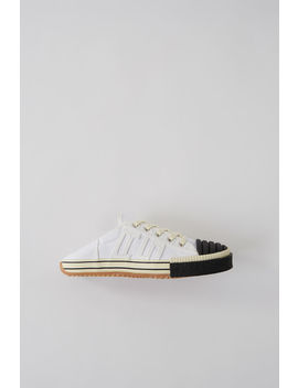 Deconstructed Tennis Shoe White by Acne Studios