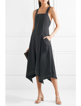 Cheyenne Tencel And Cotton Blend Midi Dress by Ulla Johnson
