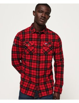 Rookie Ridge Shirt by Superdry