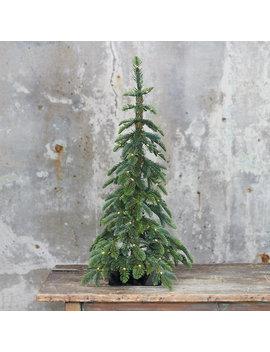 Faux Pre Lit Led Alpine Tabletop Tree by Terrain