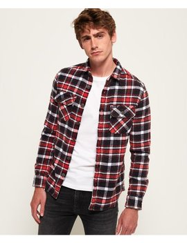 Merchant Milled Shirt by Superdry