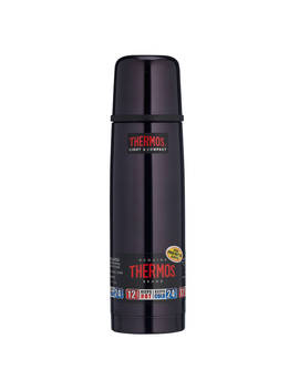 Thermos Light & Compact Flask, 1 L, Midnight Blue by Thermos