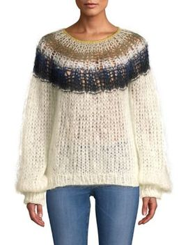 Mohair Blend Sweater by Maiami