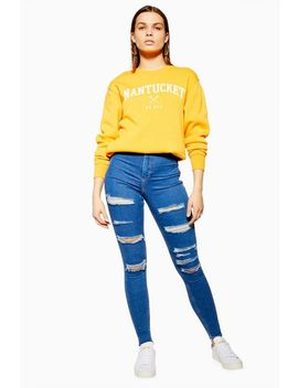 mid-blue-super-rip-joni-jeans by topshop