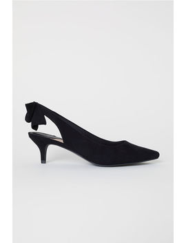 Arkası Açık Fiyonklu Ayakkabı by H&M