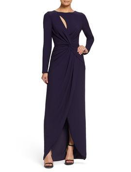 Naomi Twisted Gown by Dress The Population