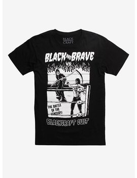 Black Craft Black X Brave Vs. Bcc T Shirt by Hot Topic