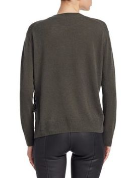 Silk Crewneck Sweater by Vince