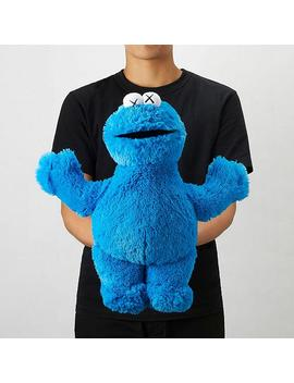 Kaws X Sesame Street Toy (Cookie Monster) by Uniqlo