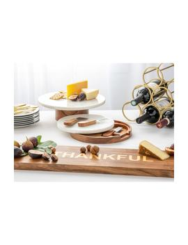 Thankful Wood Tray by Nordstrom At Home