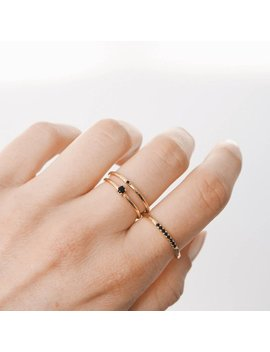Gold Stacking Ring, Silver Ring, Stacking Ring, Dainty Ring, Delicate Ring, R072 by Etsy