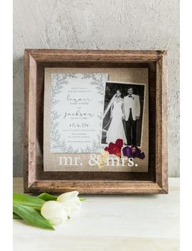 Mr. And Mrs. Keepsake Shadow Box by Francesca's