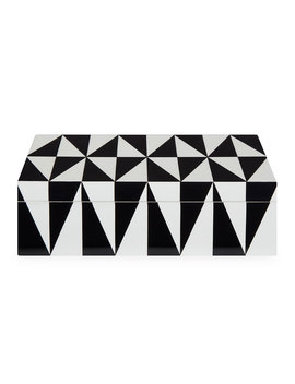 Op Art Medium Stacking Box by Jonathan Adler