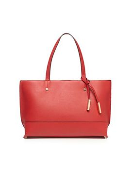 The Collection   Red Tote Bag by The Collection