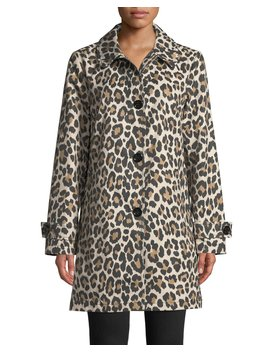 Leopard Print Transitional Jacket by Kate Spade New York