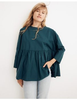 Whit® Dalia Top In Moss by Madewell