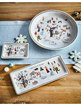 "Twelve Days Of Christmas Platter, 15""Dia. by Juliska"