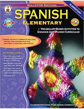 Spanish, Grades K   5: Elementary (Skills For Success) by Amazon