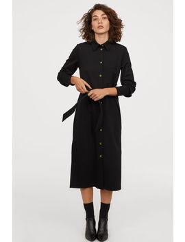 Džersejové Košeľové šaty by H&M
