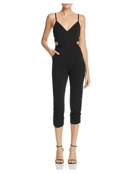 Cutout Jumpsuit   100 Percents Exclusive by Aqua