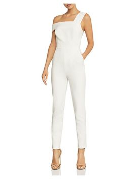Haida One Shoulder Jumpsuit by Bcbgmaxazria
