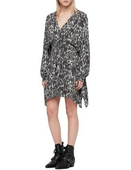 Nichola Leo Ash Print Dress by Allsaints