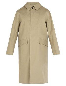 Rubberised Bonded Cotton Overcoat by Mackintosh
