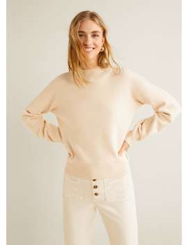 """<Font Style=""""Vertical Align: Inherit;""""><Font Style=""""Vertical Align: Inherit;"""">Sweater With Funnel Neck</Font></Font> by Mango"""