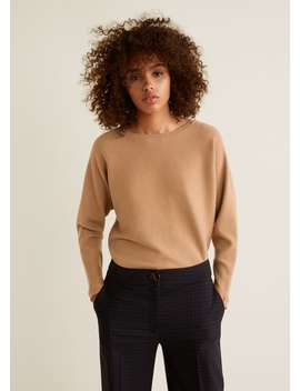 """<Font Style=""""Vertical Align: Inherit;""""><Font Style=""""Vertical Align: Inherit;"""">Ribbed Knitted Sweater</Font></Font> by Mango"""