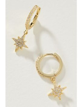 Burning Bright Hoop Earrings by Shashi