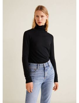 """<Font Style=""""Vertical Align: Inherit;""""><Font Style=""""Vertical Align: Inherit;"""">Turtleneck</Font></Font> by Mango"""