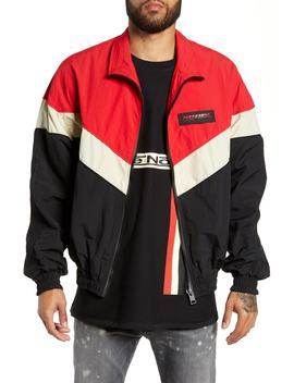Colorblock Shell Jacket by Represent