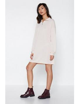 Let It Zip Mini Dress by Nasty Gal