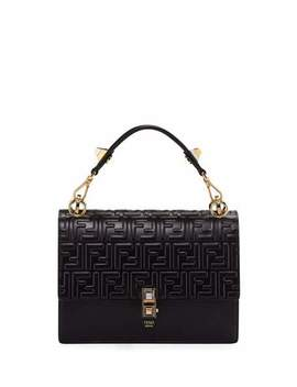 Kan I Ff Embossed Liberty Shoulder Bag by Fendi