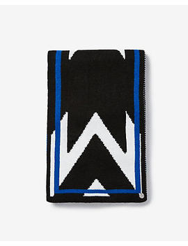 Chevron Knitted Oblong by Express