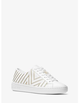 Whitney Leather Sneaker by Michael Michael Kors