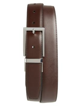 Newman Reversible Leather Belt by Nordstrom Men's Shop