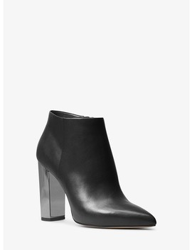 Paloma Leather Bootie by Michael Michael Kors