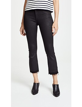 Lara Coated Cropped Bootcut Jeans by Dl1961