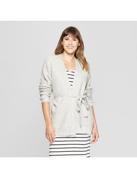 Women's Belted Open Layering Cardigan Sweater   A New Day™ by A New Day