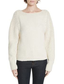 Cairn Alpaca Blend Sweater by Brochu Walker