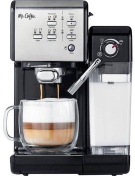 Espresso Machine   Stainless Steel by Mr. Coffee