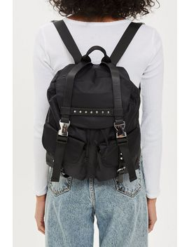 bell-nylon-backpack by topshop