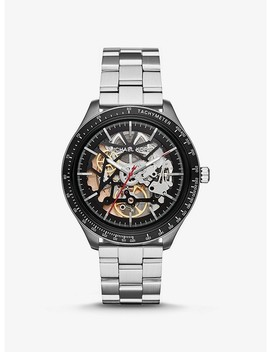 Merrick Silver Tone Watch by Michael Kors