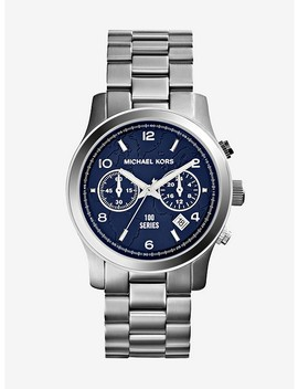 Watch Hunger Stop Runway Silver Tone Watch by Michael Kors