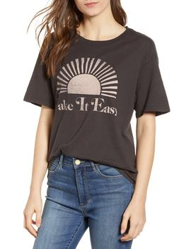 Take It Easy Graphic Tee by Day By Daydreamer