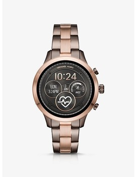 Runway Two Tone Smartwatch by Michael Kors Access