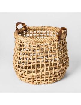 Decorative Basket Water Hyacinth   Threshold™ by Threshold