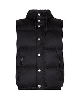 Quilted Down Gilet by Prada