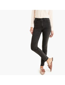 "Tall 10"" Highest Rise Toothpick Jean With Let Down Hem by J.Crew"